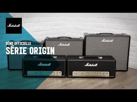 MARSHALL : Retour aux sources avec la série d'amplis ORIGIN (vidéo de la boite noire)