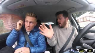 Автоаврия. Срабатывание подушек безопасности. Airbag(Как работает подушка безопасности в автомобиле., 2016-03-29T12:51:31.000Z)
