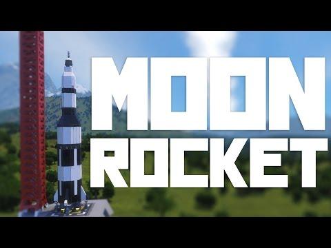 Space Engineers: MOON ROCKET! | Saturn V | 9000 Subscribers!  (WIP)