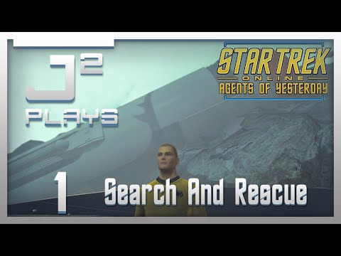Star Trek Online Agents Of Yesterday Gameplay - Search And Rescue - Part 1