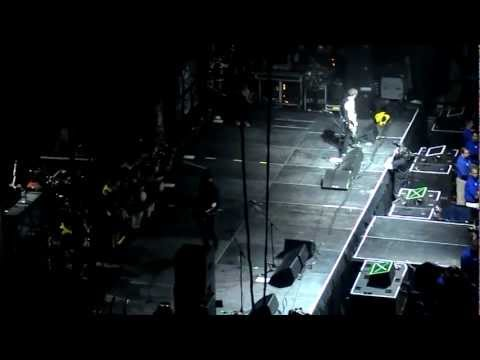 Dropkick Murphys opening. The Boys are Back. Boston @ The TD Garden 03/15/2013