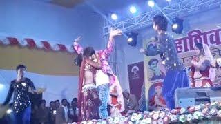 ungali pe move leke HD Bhojpuri video song //Stage dance in main village