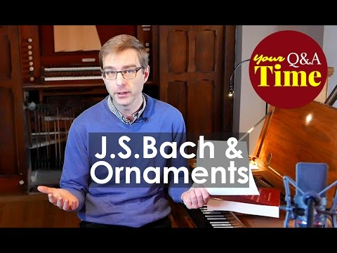 Ornaments in J.S.Bach's Inventions and Sinfonias: how to deal with the differences?