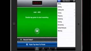 BTP 3 0 Autism ABA Data  interval recording