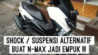 #ReviewJujur - Review YAMAHA NMAX - Shock/suspensi alternatif untuk Yamaha Nmax
