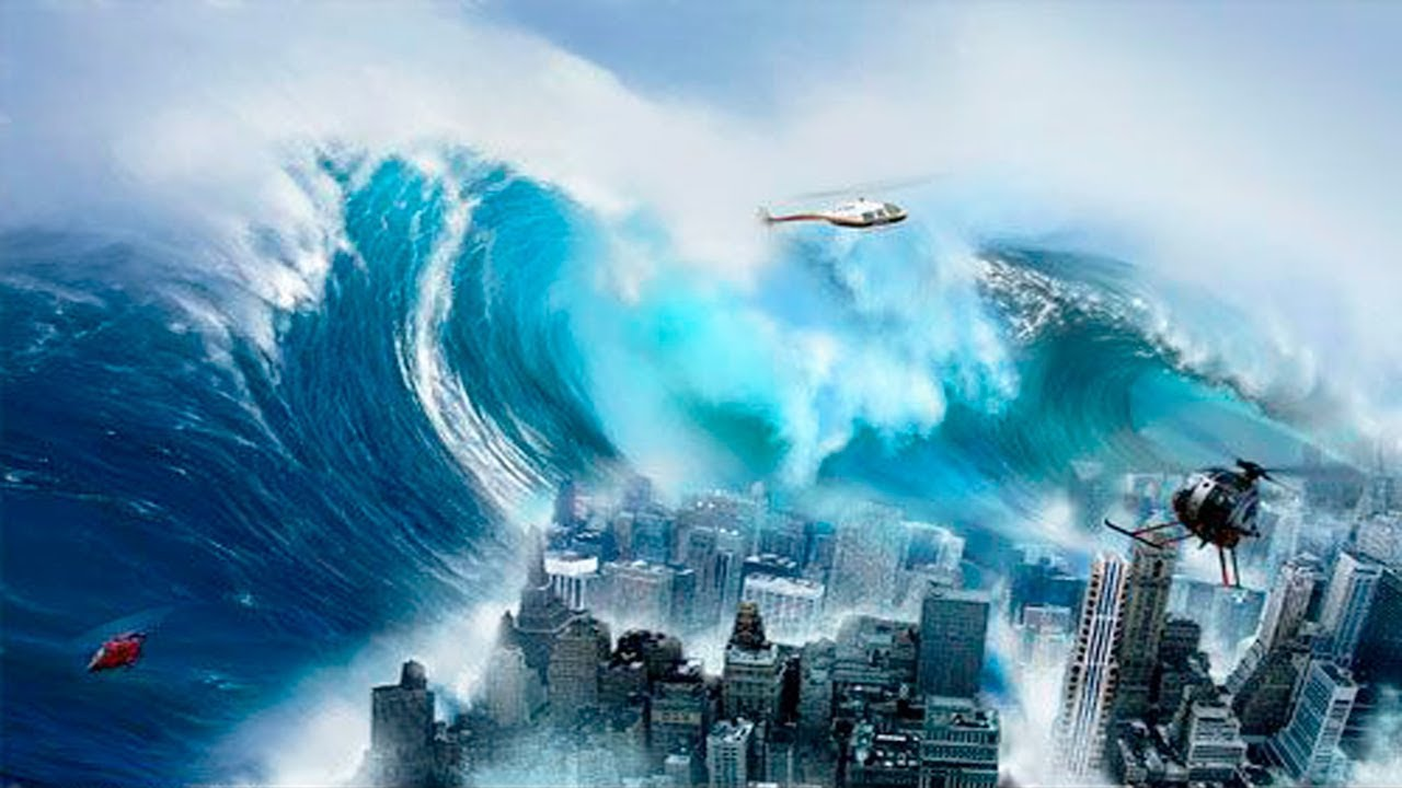The Biggest Tsunamis In History Youtube