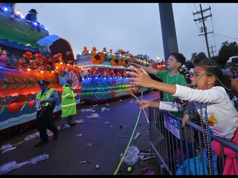 360-degree video of Endymion parade