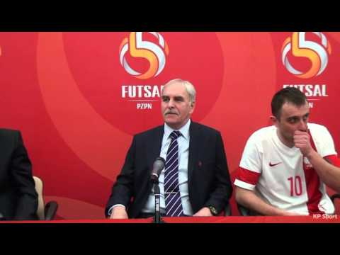 Press conference: Poland - Kazakhstan / FIFA Futsal World Cup Play-off [22.03.2016]