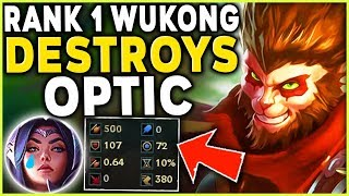 Download THE RANK 1 WUKONG DESTROYS OPTIC GAMING (FULL LETHALITY BUILD) - League of Legends Mp3 and Videos