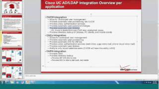 Active Directory/LDAP Integration for UCCaaS Overview