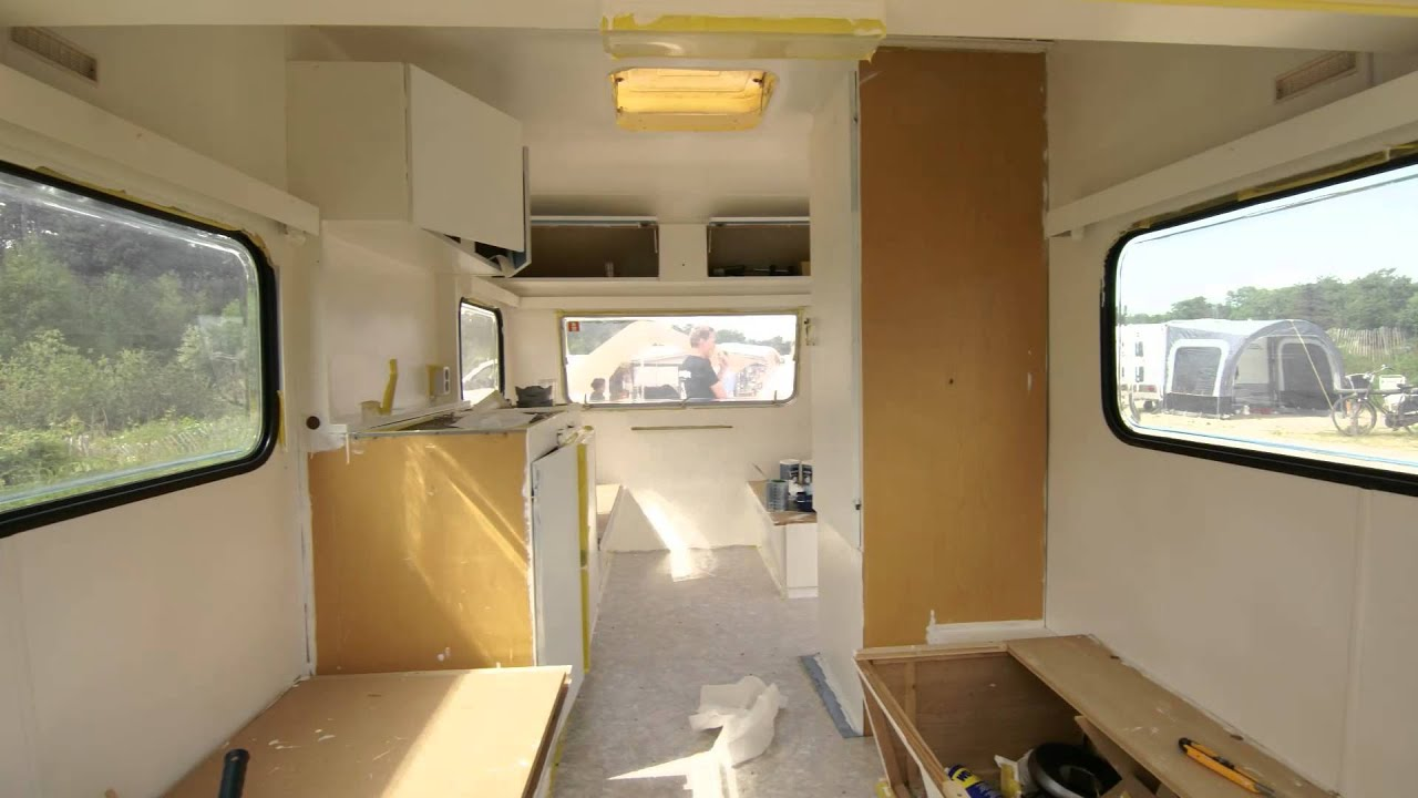 De extreme caravan makeover van a tot z timelapse youtube How to do a home makeover