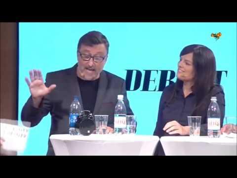 Josefsson mot Lindquist på Bokmässan
