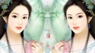 Chinese Music_渔舟唱晚 by 童丽 (Fisherman's Song At Dusk) with lyrics