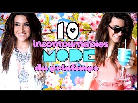 MON STYLE DU PRINTEMPS '17 - Incontournables mode