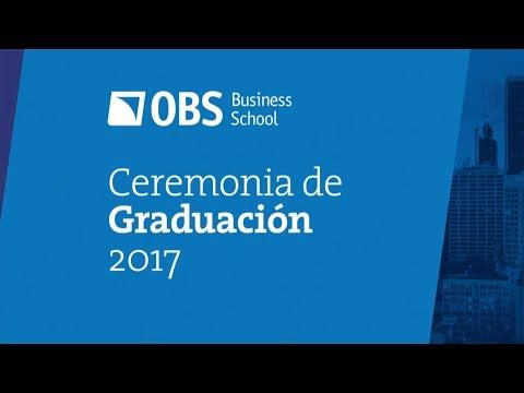 Graduación 2017 OBS Business School (Auditori de Barcelona)