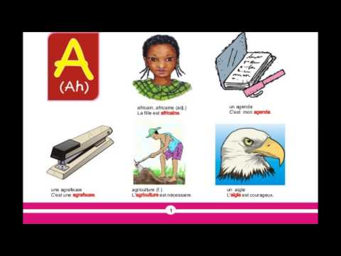 FRENCH-ENGLISH PICTURE DICTIONARY FOR SCHOOLS PRONUNCIATION GUIDE