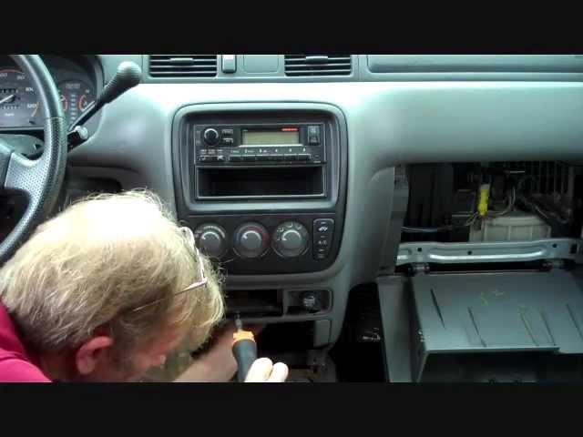 97-2001 HONDA CRV CR-V  OEM INSTRUMENT CLUSTER BEZEL TRIM