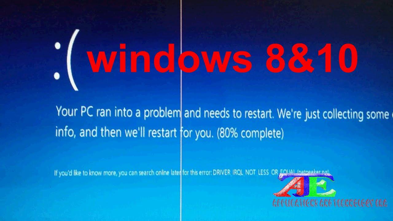 Video's van Your pc needs to restart windows 8
