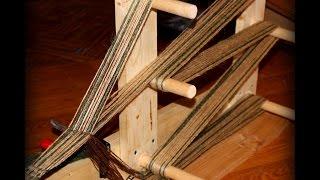 Weaving on an Inkle Loom Part 2