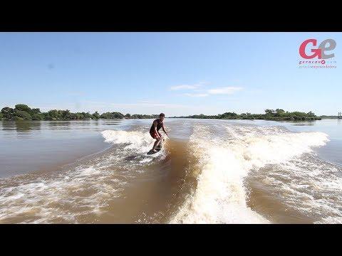 Surfe no Guaíba é novidade em Porto Alegre. Wakepoint fica a poucos minutos do Centro da Capital e oferece diversos esportes aquáticos.