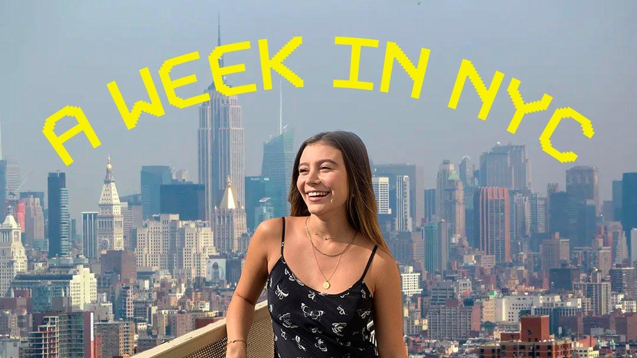 VLOG! A Week In NYC