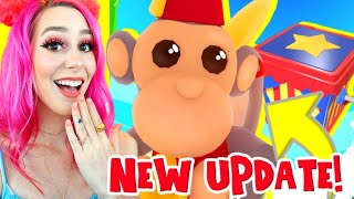 *NEW* ADOPT ME IS FINALLY UPDATING! Everything You Need To Know! Adopt Me Monkey Update (Roblox)