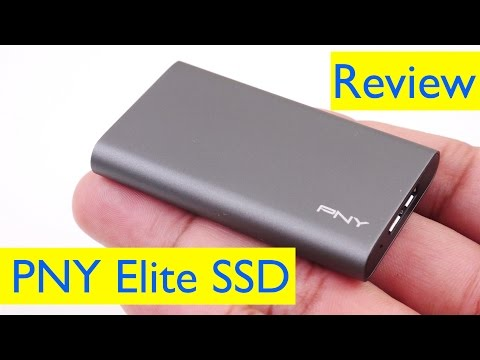 PNY Elite Portable SSD Review and Speed Test