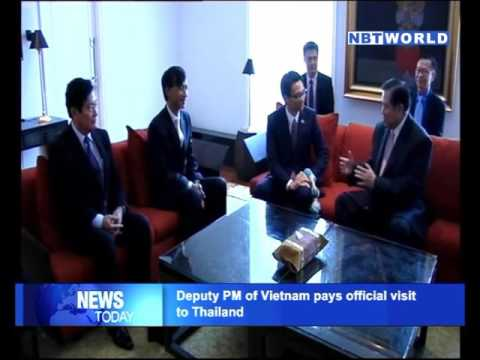 Deputy PM of Vietnam pays official visit to Thailand