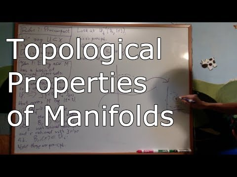 Manifolds 1.4 : Topological Properties