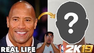 I Face Scan 'The Rock' In Nba 2k19