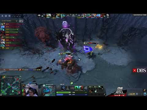 Team Secret Vs Vici Gaming Game 3 Highlights - ONE Dota 2 Singapore Invitational Main Event Day 3