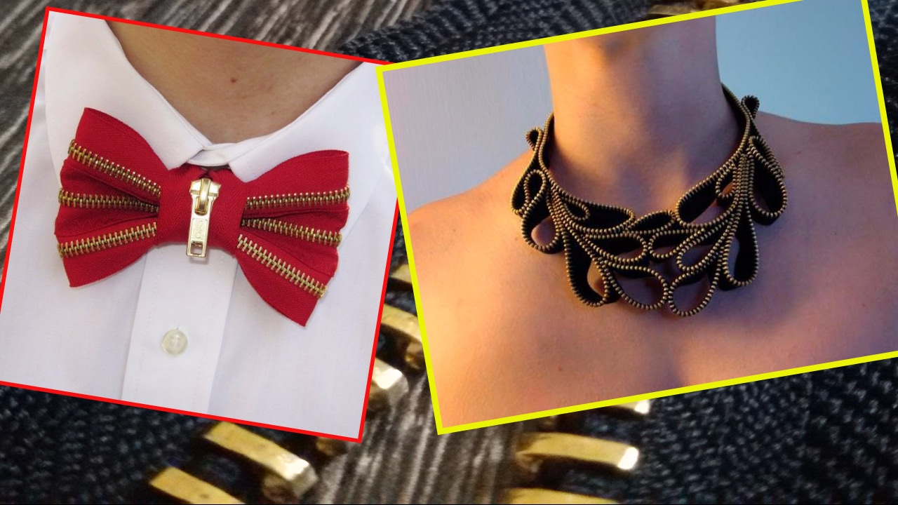25 Cool and funky DIY jewelry design ideas with zipper accessories ...