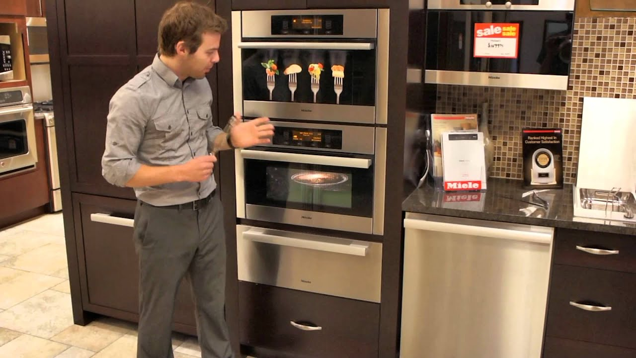 Miele Steam Oven And Speed Oven Youtube