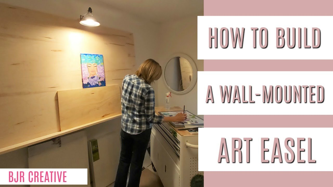 Build A Wall Mounted Artist Easel