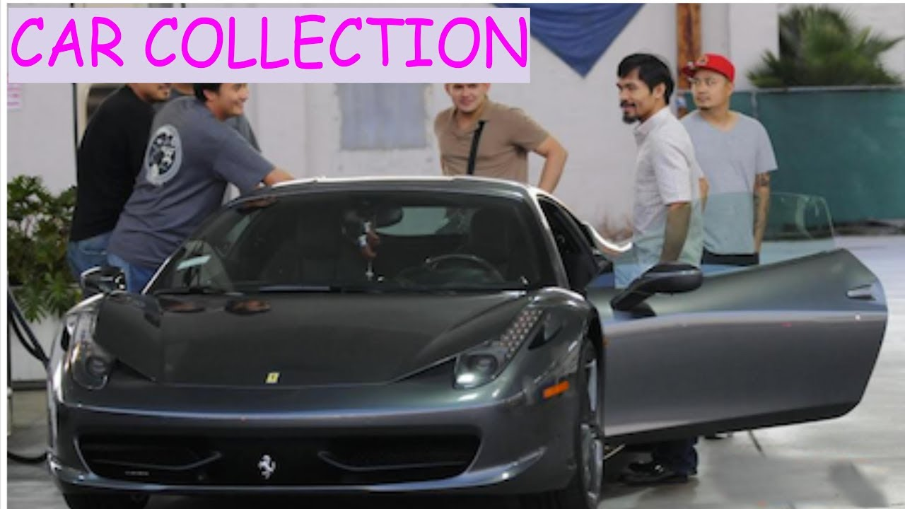 Manny Pacquiao Car Collection 2018 Youtube