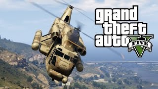 قراند 5 : حرب هليكوبترات ! GTA 5