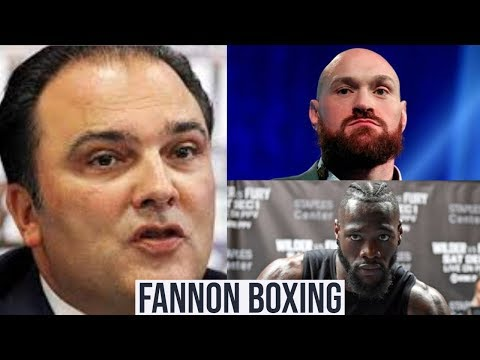 (LOL!!!) WILDER V FURY MADE MORE $$$ THAN ANY AJ FIGHT SAYS RICHARD SHAEFER  | AGAIN...NO A-SIDE!