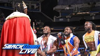 King Booker welcomes The New Day into the Five-Timers Club: SmackDown LIVE, Aug. 28, 2018 thumbnail