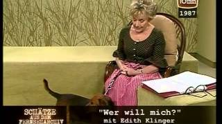 "Edith Klinger: ""Wer will mich?"" ORF FS2"