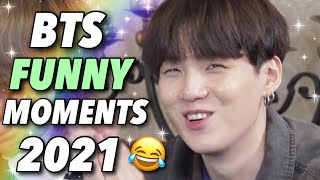 BTS Funny Moments #3 (2021 COMPILATION)