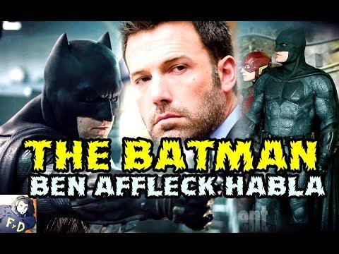 THE BATMAN - BEN AFFLECK habla sobre JUSTICE LEAGUE y BATMAN V SUPERMAN