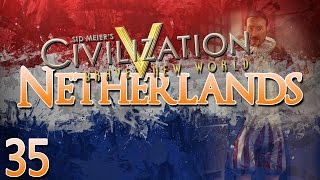 Civilization V Brave New World as The Netherlands - Episode 35 ...Victory is in Sight...