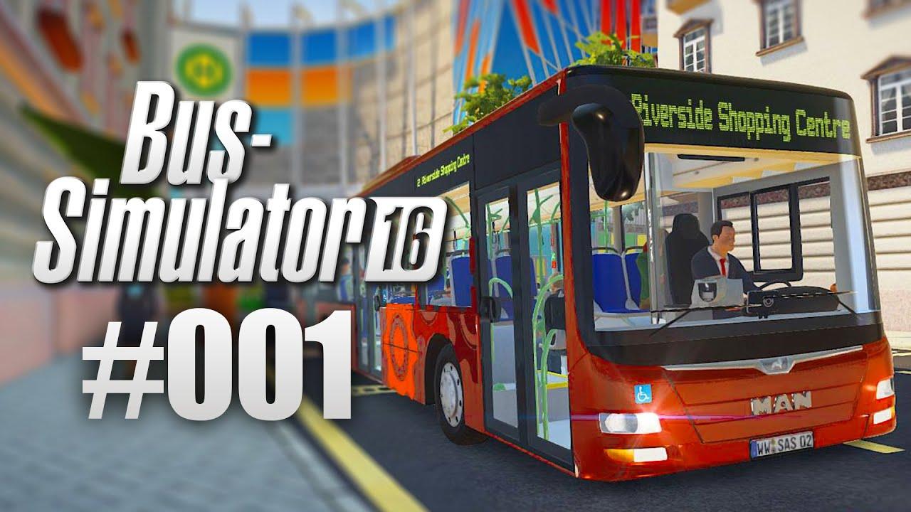 Bus-Simulator 16 #01 – Start des Bus-Unternehmens! I Let\'s Play Bus ...