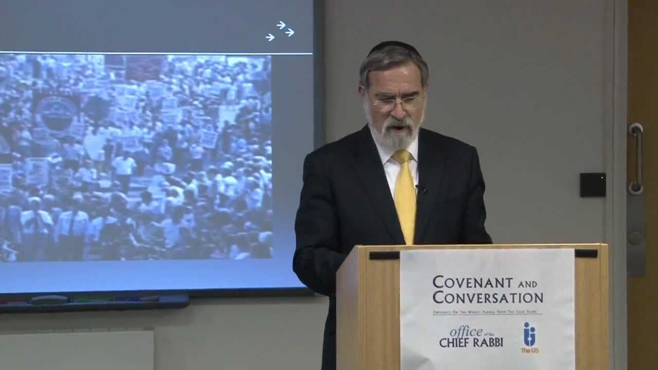 Pinchas 5771 - Covenant & Conversation - Chief Rabbi Lord Sacks speaks on the weekly Torah portion
