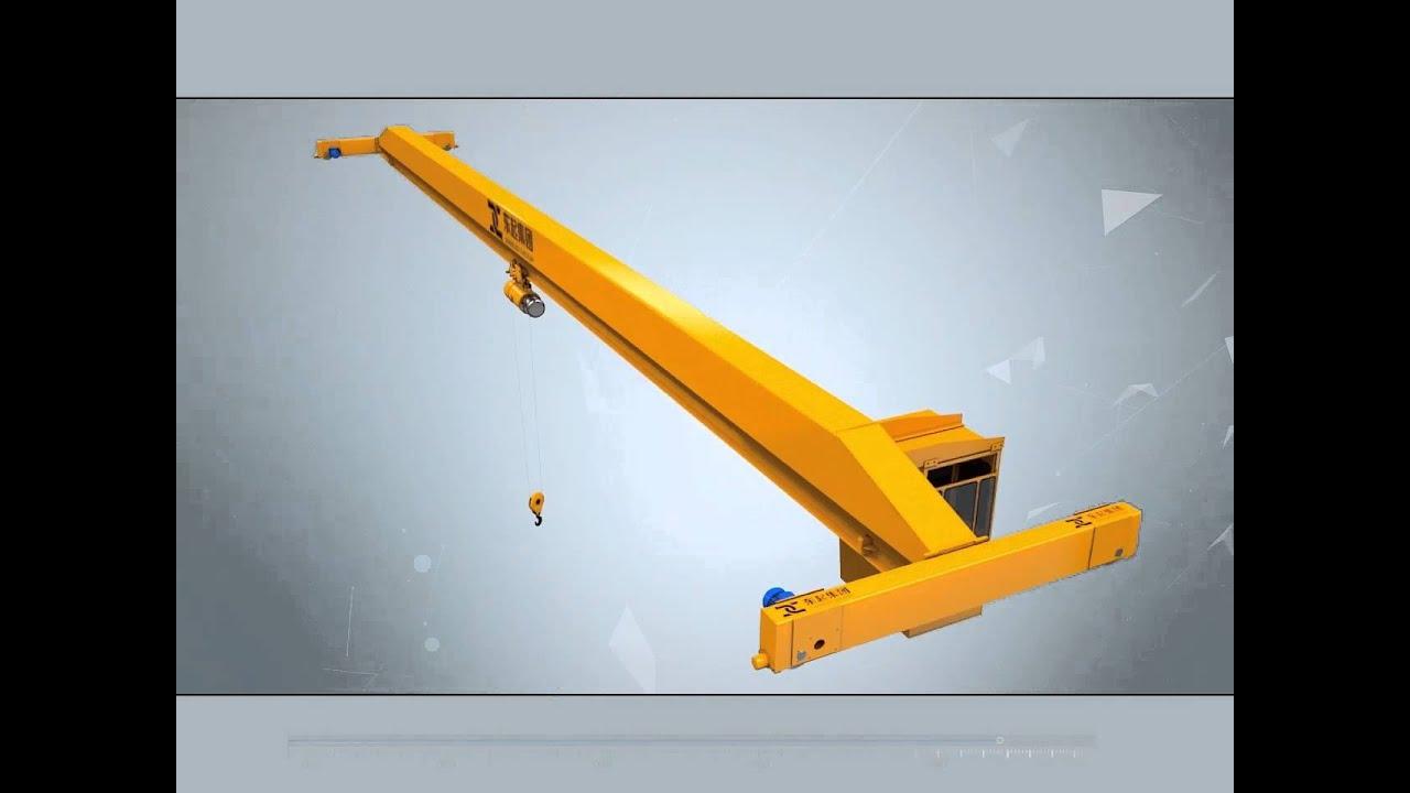 Over Head Cranes : Overhead crane with single girder