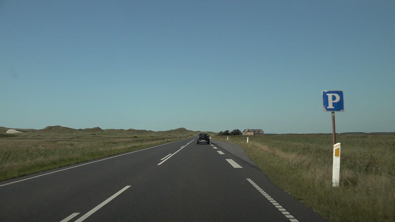 Car ride Køre ud i sommerlandene Skive – Kolding – Als – Tønder - Skive UHD/4K /HDR Video 13/14