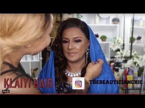 CLIENT HAIR AND MAKEUP TRANSFORMATION VLOG   INDIAN BOLLYWOOD MAKEUP  KLAIYI HAIR