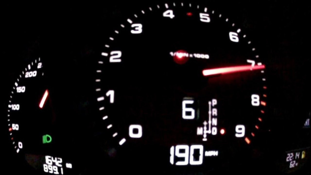 Porsche 911 carrera 4s top speed