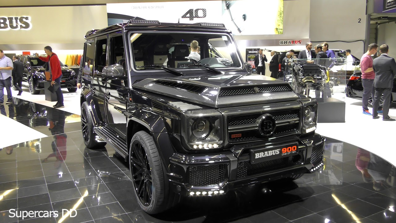 Land Rover 2018 Defender >> Brabus G900 Rocket - Based On MB G65 Interior and Exterior (4K) - Supercars DD - YouTube