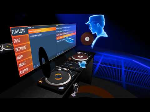 DJ in VR with Reality Decks for Oculus Rift